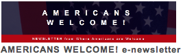 Americans Welcome!
